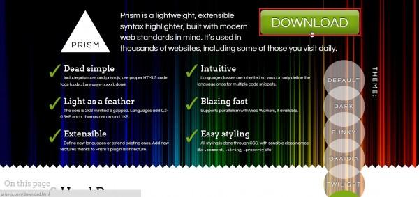 prismjs-download