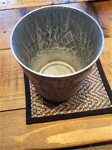 マリンアンドウォークヨコハマ-タイ料理の水